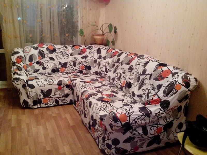 Чехол на угловой диван своими руками выкройки